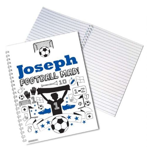 Football A5 Notebook